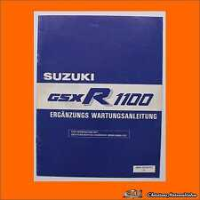 Service Manual Suzuki GSX R 1100 1988  Org. Werkstatthandbuch Reparaturanleitung