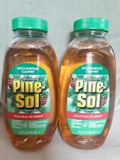 Lot of 2 Pine-Sol Multi-Surface Cleaner 9.5 fl oz Each Kills 99.9% of Germs