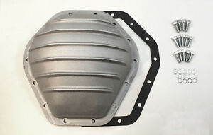 "GM 10.5"" Ring Gear Rear Aluminum Satin Differential Cover 14 Bolt"