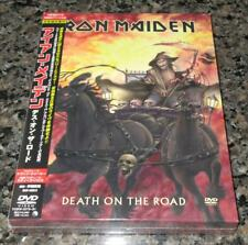 Sealed! IRON MAIDEN Japan PROMO 3 x DVD set OBI Death On The Road OTHERS listed