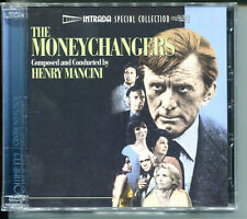 Henry Mancini THE MONEYCHANGERS 2CD Limited Edition OOP Soundtrack Kirk Douglas