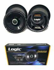 "6.5"" 300W 2 way Coaxial Speakers Adjustable tweeters Car Audio ZX6200"