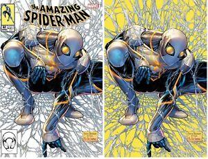 AMAZING SPIDER-MAN #62 VIRGIN SET KIRKHAM McFarlane 1 Homage New Costume
