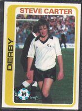 TOPPS-FOOTBALL (PALE BLUE BACK 1979)-#117- DERBY - STEVE CARTER