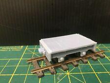 Gn15  Flat Wagon Kit with optional wheelset