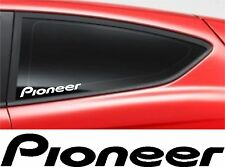 PIONEER STICKER Car Window Bumper  VW FORD AUDI JDM BMW Vinyl Sponsor Decal