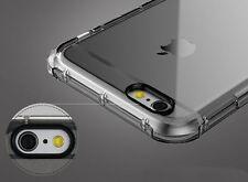 FUNDA ESPECIAL ANTIGOLPES DE SILICONA GEL TPU TRANSPARENTE PARA iPHONE 6 6S