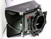 Cinematics matte box 15mm rod universal for a7ii fs7 bmpcc red dragon 5d 6d arri