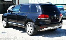 VW Touareg 7L 02-10 Rear Bumper spoiler addon king kong kingkong w12 v10 r50 V6
