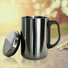 Stainless Steel Double Wall Mug Cup Portable Travel Coffee Tea Cups 500/350ml