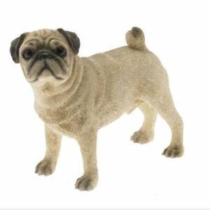 PUG DOG FIGURINE ORNAMENT GIFT BOXED BY THE LEONARDO COLELCTION