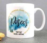 Custom Zodiac Sign Coffee Tea Mug Birthday Valentine's Day Gift Idea Present