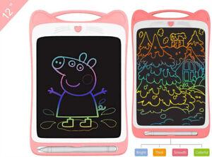 "8.5"" 12"" LCD Writing Tablet EWriter Pad Drawing Board Digital Notepad Kids Gift"