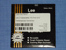 Lee Filter (Wratten) 75x75mm  81D