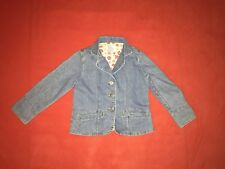 Vintage Who's That Girl Jean Jacket- Size 5/6