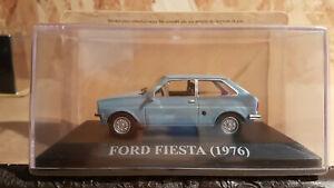 ixo 1-43ème (chères voitures d'antan) - ford fiesta (1976)
