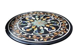 """36"""" marble coffee Table Pietra Dura inlay Handmade Home & Garden decor"""