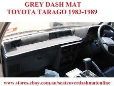DASH MAT, DASHMAT, DASHBOARD COVER FIT  TOYOTA TARAGO 1983-1989, GREY