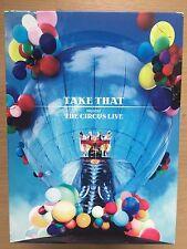 TAKE THAT - The Circus Live ~ Británico POP CONCIERTO MUSIC GB DISCO 2 DVD