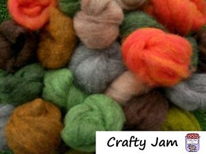 Needle Felting Corriedale Sliver Wool Ideal for 3D, Choose Colour