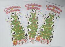 Xmas Bingo Tickets Flyer Xmas Family Games Night Christmas Fun
