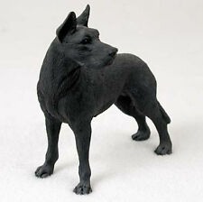 Great Dane Hand Painted Dog Figurine Statue Black