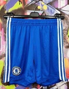 Chelsea London 2009 2010 Home Football Soccer Shorts Adidas Mens size M