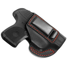 Fits Ruger LCP IWB .380 Concealed Carry Leather Holster LCP 1 and LCP 2 II