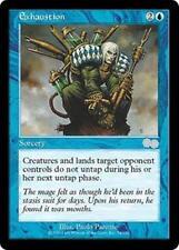 EXHAUSTION Urza's Saga MTG Blue Sorcery Unc