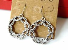 New Retro Lucky Brand silver tone Earrings