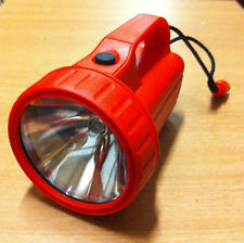 Newlec Water Resistant Car Camping Safety Flashlight Torch Red Light ( NLTOR2 )