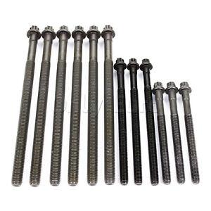 BMW Cylinder Head Bolt Set N42 N46 E87 120i E46 318i E90 E91 320i E83 X3 Z4 2.0i