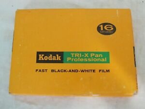"VTG Kodak Tri-X Pan Professional Film Pack 4"" x 5"" Film Pack TXP 523 Sealed"
