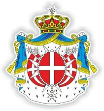 Malta Malta Escudo De Armas Crest pegatina de parachoques adhesivos de vinilo de barco de camión Laptop