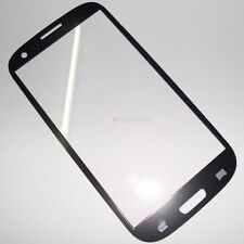 LCD Screen Front Lens Glass Cover For Samsung Galaxy i9300 Siii S3 Black