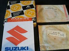 SUZUKI GT250K/L/M/A/B GT380J/K/L/M GT250X7 PISTON RINGS +0.25mm (2) NEW