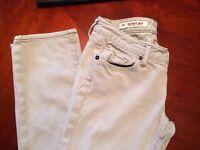 X2 Washing Womens Skinny W01 Ultra Low Rise Skinny Leg Denim Jeans Size 0