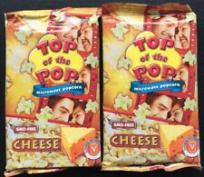 2 X Microwave Popcorn - Cinema Style - Cheese flavoured  - easy made - Nights in