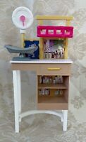 Mattel Barbie Doll House Furniture Veterinarian Baby Animal Scale Center Table