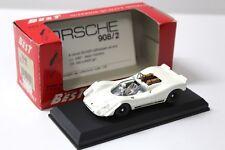 """1:43 Best Porsche 908/2 """"PROVA"""" White New chez Premium-modelcars"""