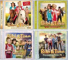 4 CDs * BIBI UND TINA - ORIGINAL HÖRSPIELE ZUM KINOFILM 1-4 IM SET # NEU OVP KX
