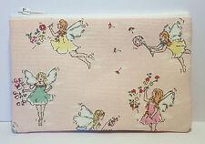 Cath Kidston 'Garden Fairies' Fabric Handmade Zippy Coin Purse Storage Pouch