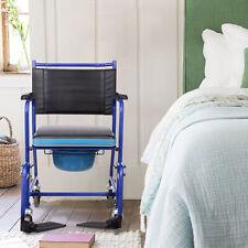 Toilettenstuhl Toilettenrollstuhl Nachtstuhl WC Stuhl Belastbarkeit Fahrbar