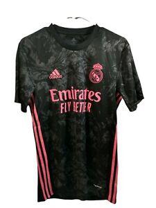 Adidas Real Madrid 20/21 Third Soccer Jersey Black GE0933 Mens Multi Sizes