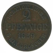 Braunschweig, 2 Pfennig 1859, A43457