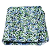 Indian Hand Block Floral Printed Craft Sewing Fabric Dress Material 5 Yard IFK