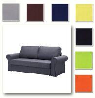 Custom Made Cover Fits IKEA Backabro Three-Seat Sofa Bed, Replace Sofa Cover