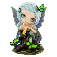 Statua Fata Assenzio Farfalla 12,5cm Strangelina Jasmine Becket-Griffith