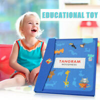 Tangram Game Travel Games Magnetic Puzzle Montessori Educational Toy for Kids