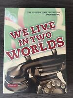 WE LIVE IN TWO WORLDS - The GPO Film Unit Collection Vol.2 Dvd New And Sealed
